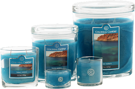 Colonial Candle - Topaz Waters
