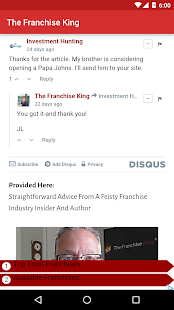 The Franchise King® App- screenshot thumbnail