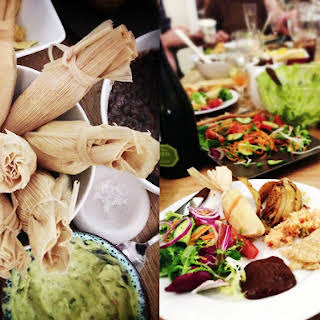 Vegetarian Tamales.