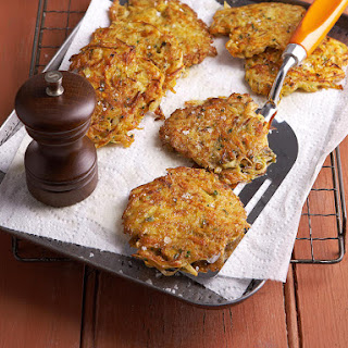 Sweet Potato Pancakes with Garlic Mayonnaise