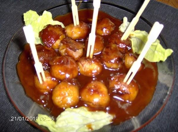 Chestnut Hors'd'oeurves Recipe