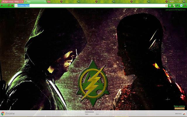 Flash v Arrow - 1600px - Chrome Web Store