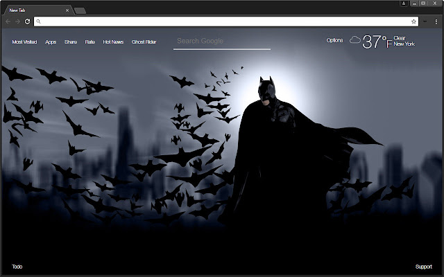 Free Addon Dark Chromes Themes