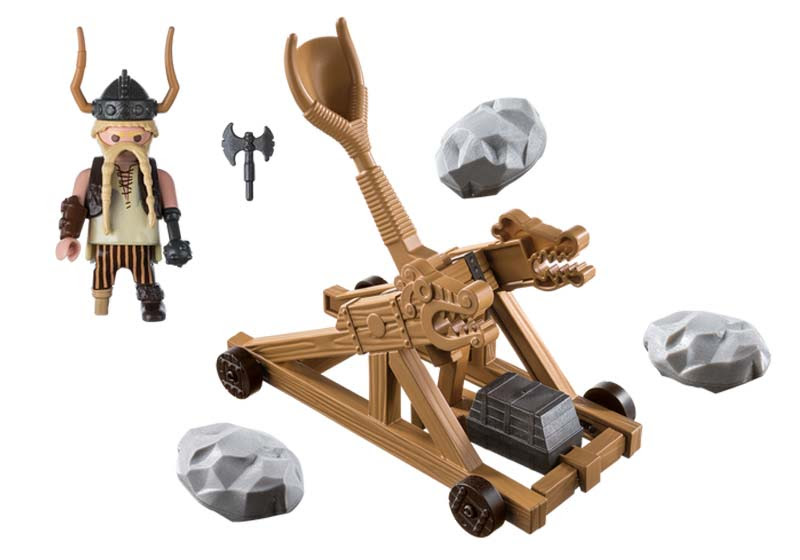 Contenido Real de Playmobil® 9245 Bocón con Catapulta