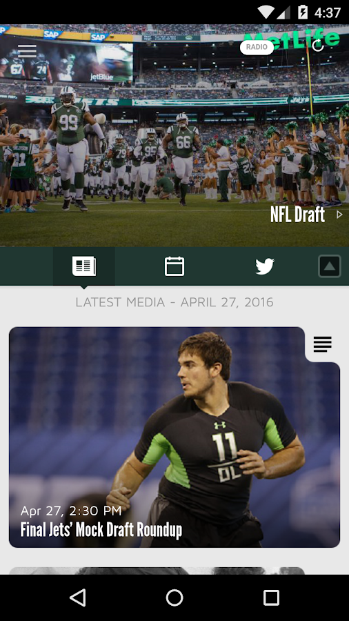 Official New York Jets- screenshot