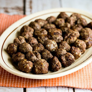 Low-Carb Baked Swedish Meatballs.