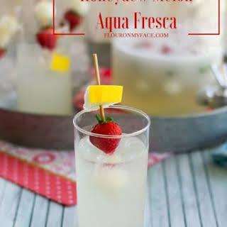 Honeydew Melon Aqua Fresca.