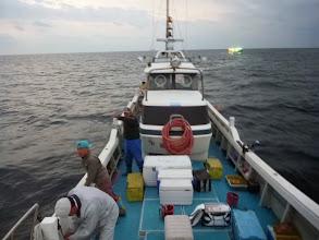 Photo: 前回は、「サメ」にボコボコにされ、散々だった。 ・・・おサメさん!今日は、取らないでねー。