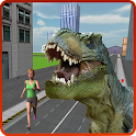 City Dino Rampage 2016 icon