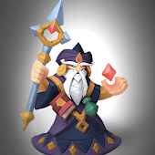 Idle mage: Swipe wizard battle