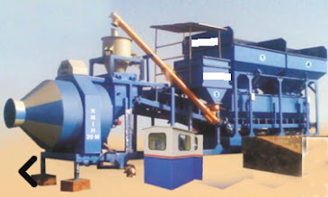 Photo: Fully Automatic Single Chassis Mobile Concrete Batching Mixing Plant with Reversible Drum Mixer