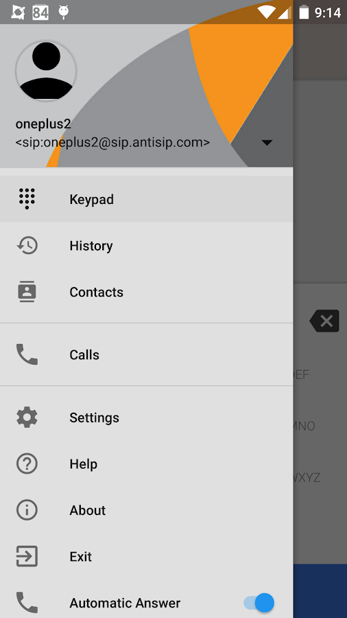 Voip By Antisip (+Video)- screenshot
