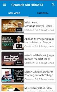 Ceramah Ust Adi Hidayat Terbaru - náhled