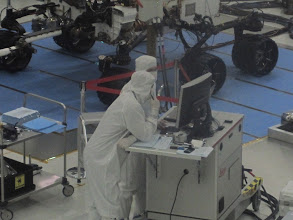 Photo: Working hard to get MSL to Mars!