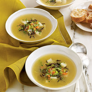 Wild Rice and Celery Root Soup