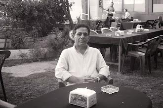 Photo: Dr Haşem Ahmedzade, academic, specialist on Kurdish literature, literary critic, Hawlêr, South Kurdistan (Iraq), 2013