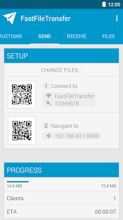 Fast File Transfer Screenshot