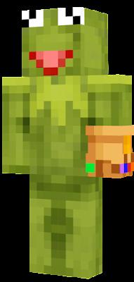 Kermit With An Infinity Gauntlet