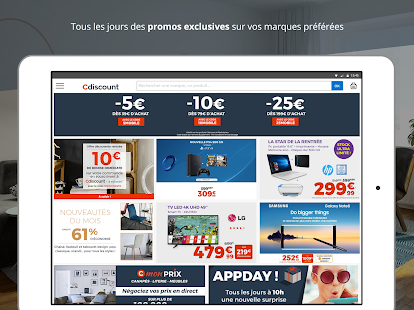 Cdiscount shopping Capture d'écran