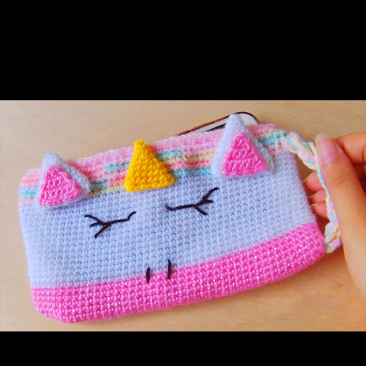 Unicorn Pouch by Ricincraft
