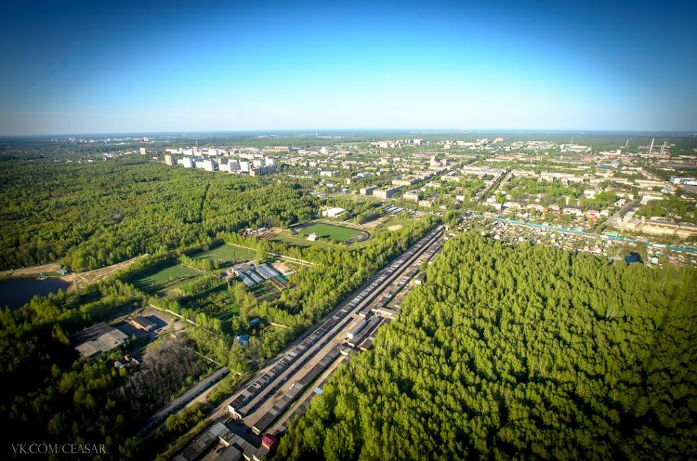 Вид с РЦ-9, г.Электросталь.