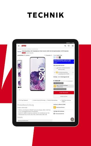 OTTO - Shopping für Elektronik, Möbel & Mode 9.13.0 screenshots 21