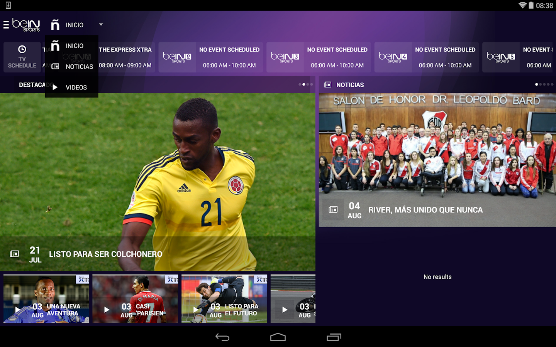 beIN SPORTS- screenshot
