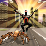 Multi Spider Heroes Crime City Warrior Icon
