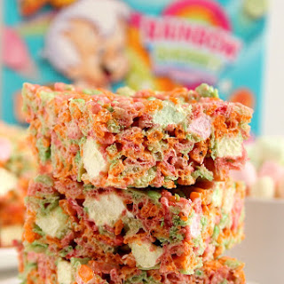 Ice Cream Pebbles Marshmallow Cereal Bars