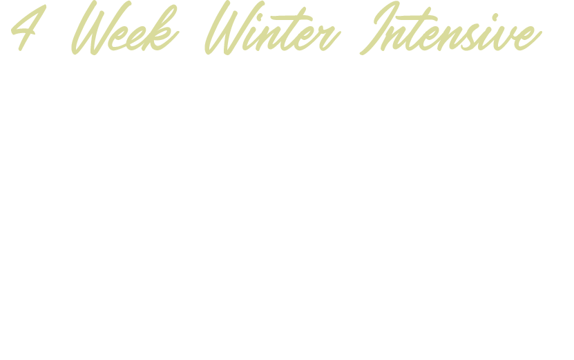 Healthy Love Winter Intensive