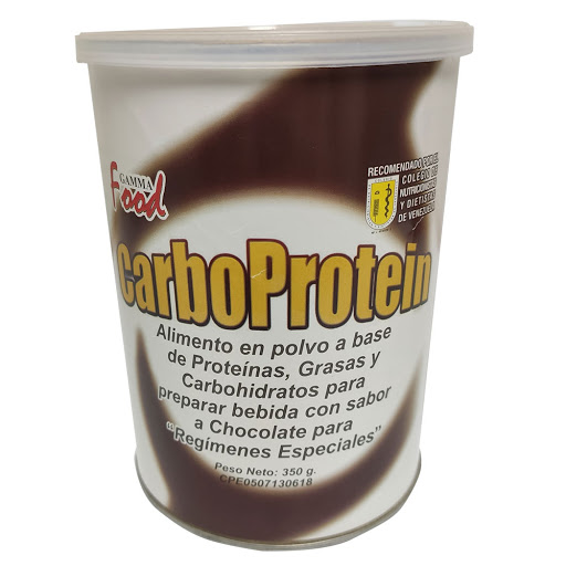 suplemento nutricional carboprotein sabor a chocolate 350g
