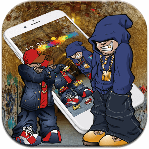 Hip-Hop Graffiti Theme