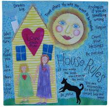 "Photo: ""House Rules""  by Susan Brubaker Knapp www.bluemoonriver.com"
