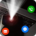 Flash alert: Flash on Call and SMS icon