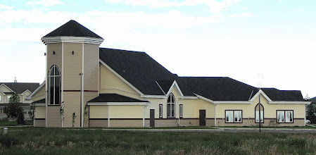 Photo: Holy Cross Lutheran Church - Okotoks, Alberta Kopperud Architecture