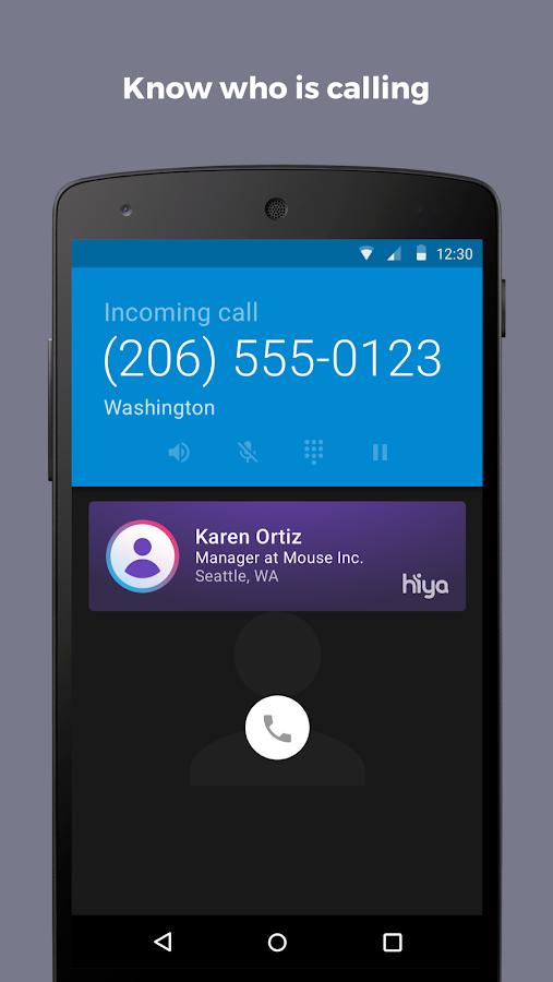 Screenshots of Hiya - Caller ID & Block for iPhone