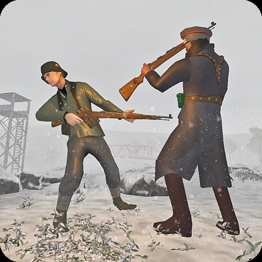 Russian Sniper vs German Sniper - Survival Battle
