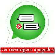 ler mensagens excluídas - leer mensajes eliminados