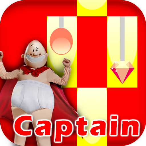 Captain Hero Underpants Piano Tiles (game)