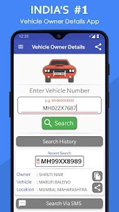 Vehicle Owner Details India App Download for Android 1
