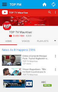TOP FM Mauritius- screenshot thumbnail