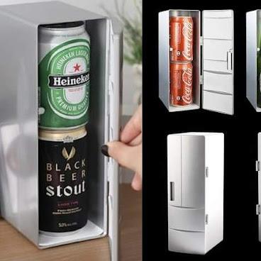 🔥冷熱兩用 USB 迷你小冰箱$128 🔥