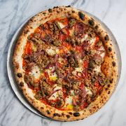 Spicy Meatballs Pizza