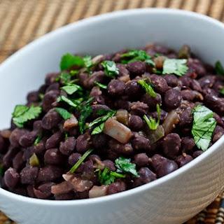 Jalapeno Spiced Black Beans.