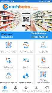 CashBaba Business Uganda Beta - náhled