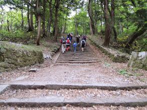 Photo: G.W真っ只中なので家族連れの登山客が多い。