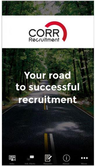 Corr Recruitment- screenshot