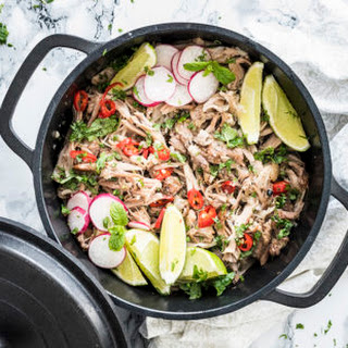 Cuban Unwich with Slow Cooker Carnitas.