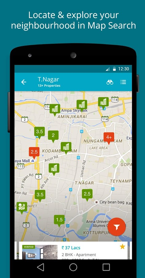 India Property Real Estate App- screenshot