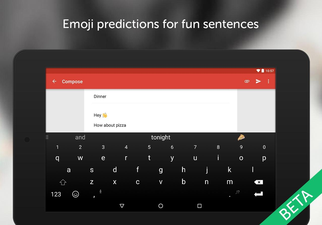 New Swiftkey Beta for Android